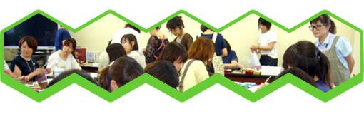亀岡高校PTA銀粘土細工講習会(文化事業委員会)