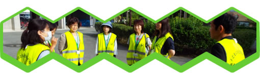 亀岡高校PTA 交通安全指導(交通安全委員会)